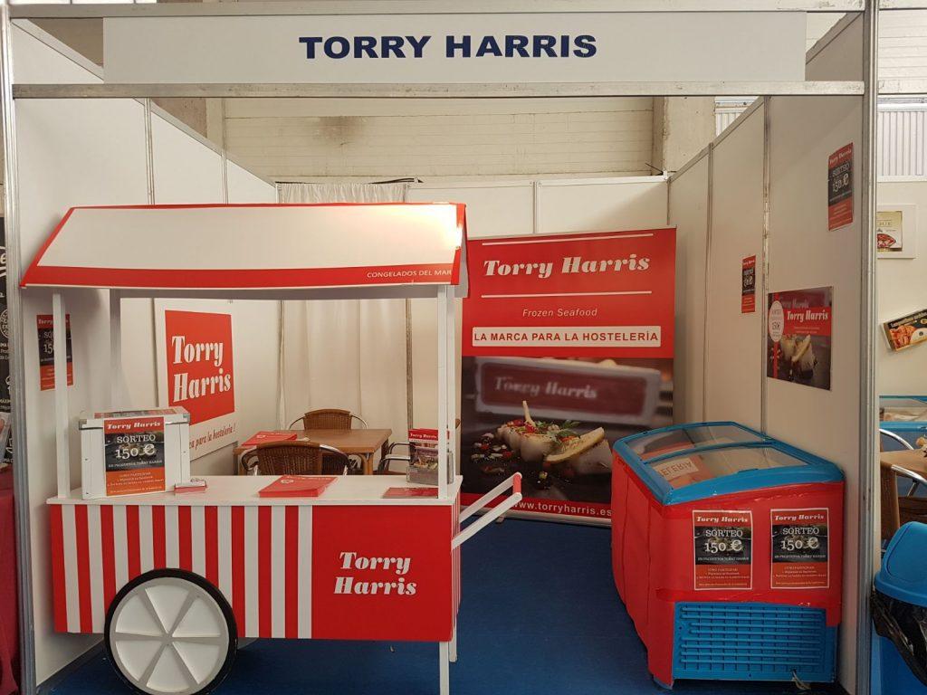 Stand Torry Harris en Feria distribucion Hermanos Cifuentes